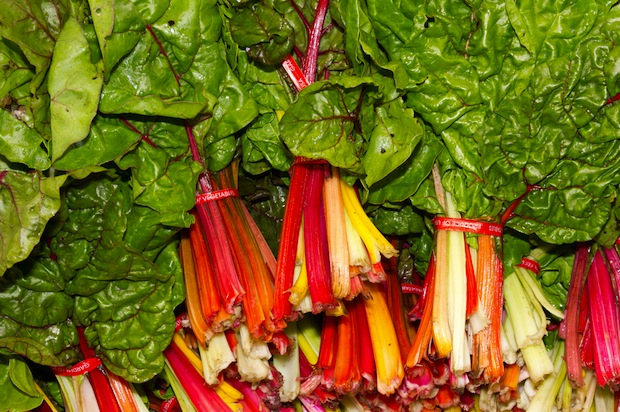Swiss chard is high in vitamin K, magnesium, calcium and antioxidants.