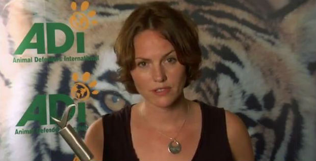 Jorja Fox Elephant