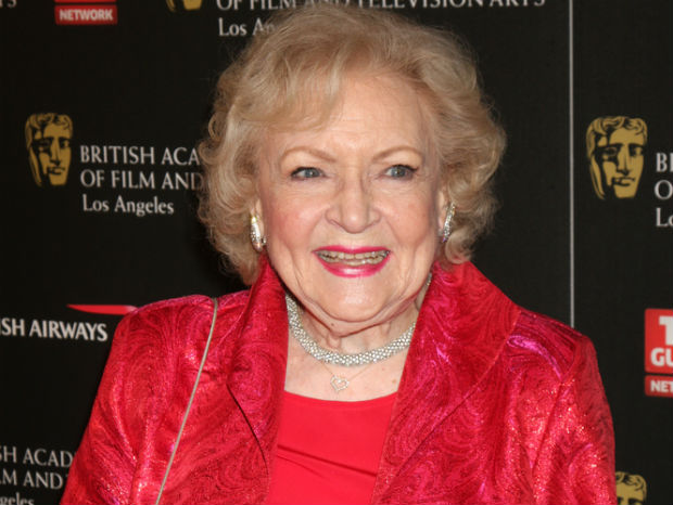 Betty White adopts crocodile in honor of Elton John's 65th birthday