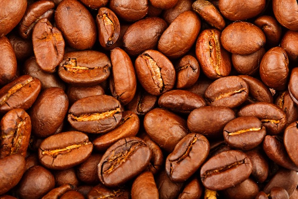 coffee beans to eliminate odor in fridge