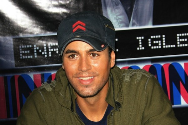 Enrique Iglesias adopted a German Shepherd from a no-kill shelter Los Angeles.