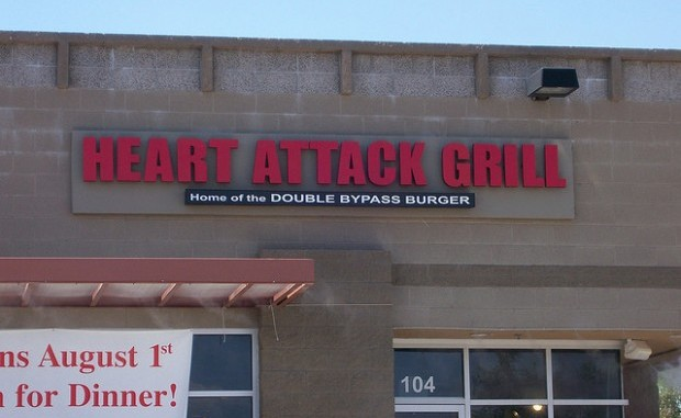 Second diner in two months collapses while eating at the Heart Attack Grill