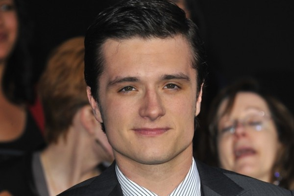 Josh Hutcherson adopted a 3-month-old pit bull puppy named Driver.