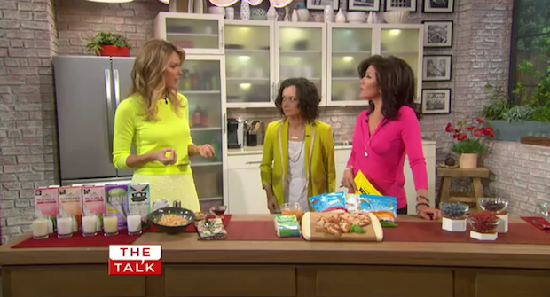 "Kathy Freston shares her vegan weight loss tips on ""The Talk."""