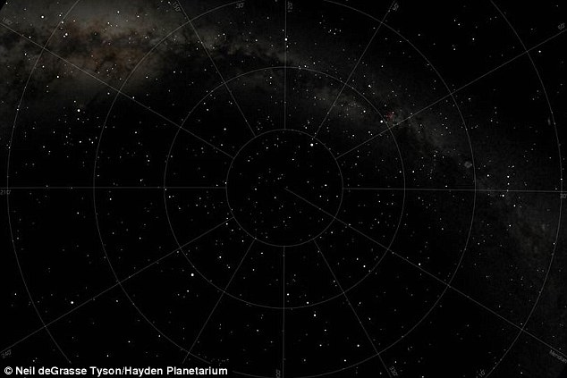 The stars on April 15, 1912