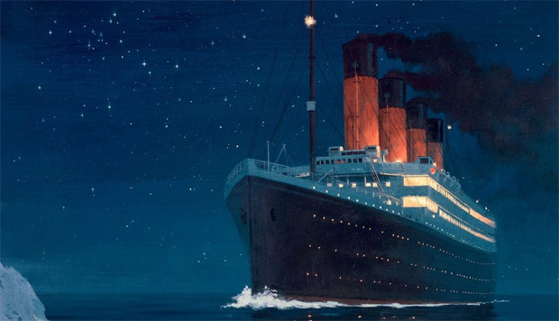 The stars in Titanic are being changed