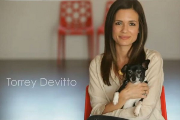 Torrey DeVitto joins Peta to speak out against fur and the importance of adopting animals