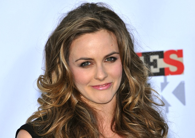 Alicia Silverstone's California home includes a solar array and an organic garden.