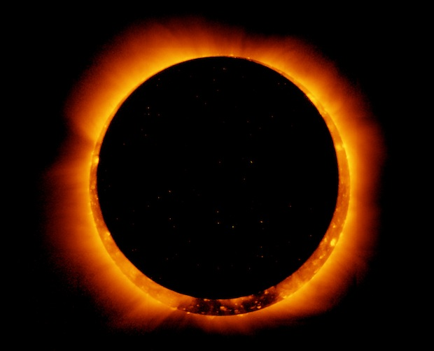 "The annular, or ""ring of fire"" eclipse will be visible in the west and southwest on Sunday."