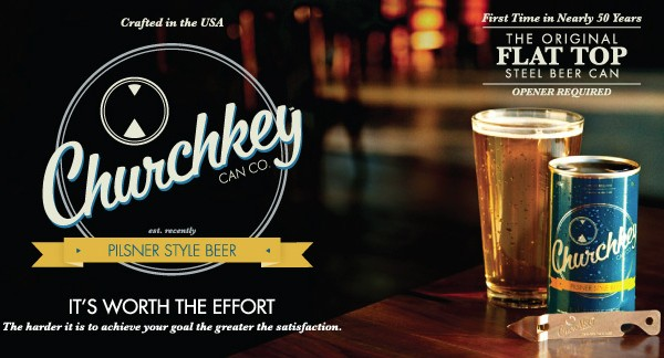 Beer company ChurchKey Can Co.