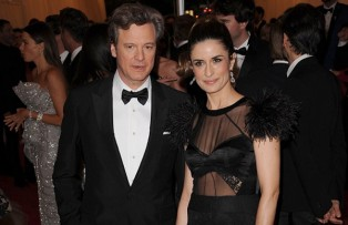 Colin and Livia Firth at the Prada Ball