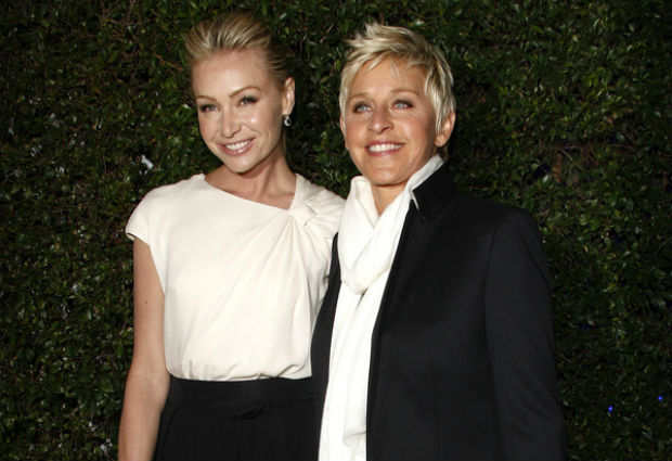 Ellen DeGeneres and Portia de Rossi discuss the importance of going vegan with Rachel Ray