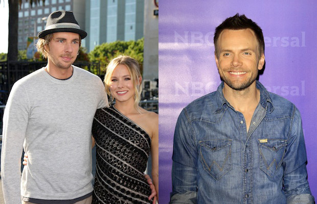 Kristen Bell lectured Joel McHale at the grocery store about the importance of reusable shopping bags.