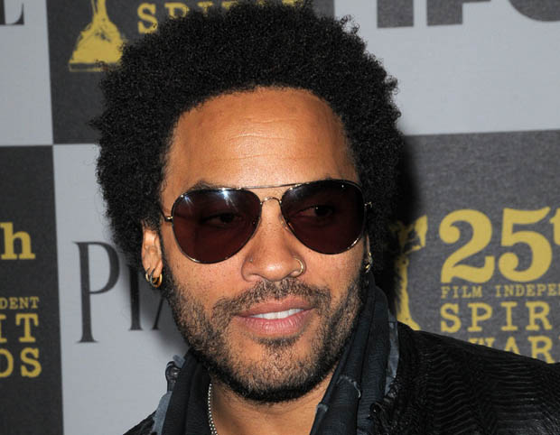 Lenny Kravitz designs for TOMS shoes.