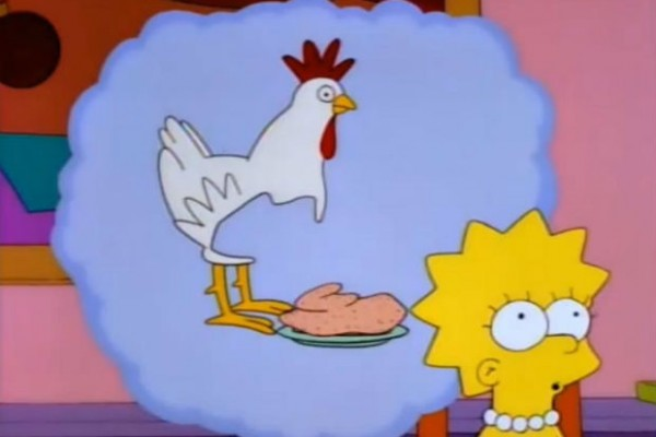 Lisa Simpson maintains vegetarian diet on The Simpsons no matter what her family thinks