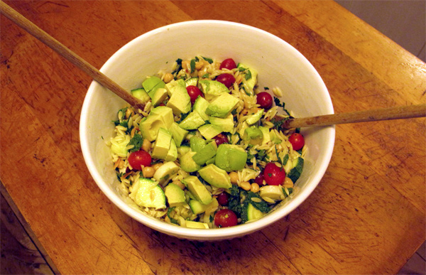 Recipe for Orzo Vegan Salad