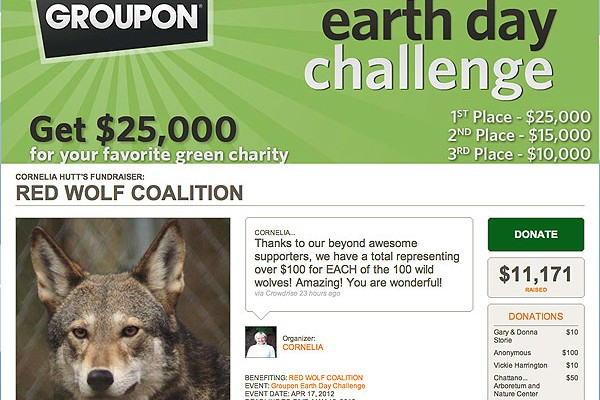 Red Wolves are winning Edward Norton's challenge