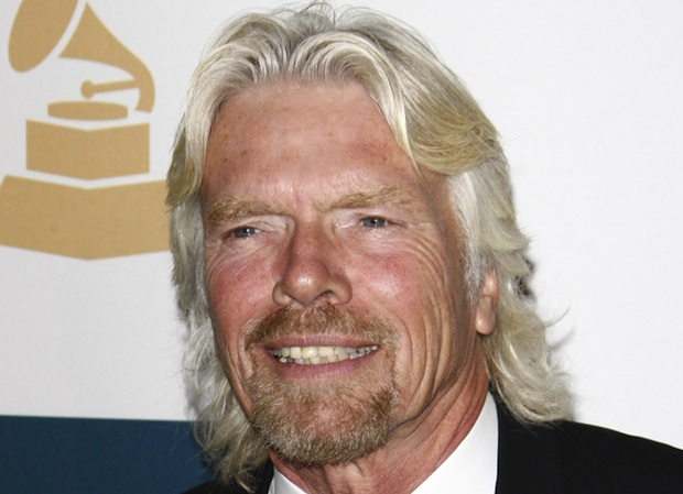 Richard Branson supports alternative fuel methods to foster the global economy.