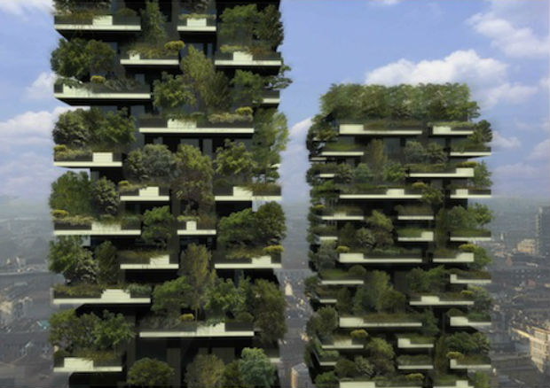 Milan, Italy constructs world's first vertical forest adding greenery back into the city