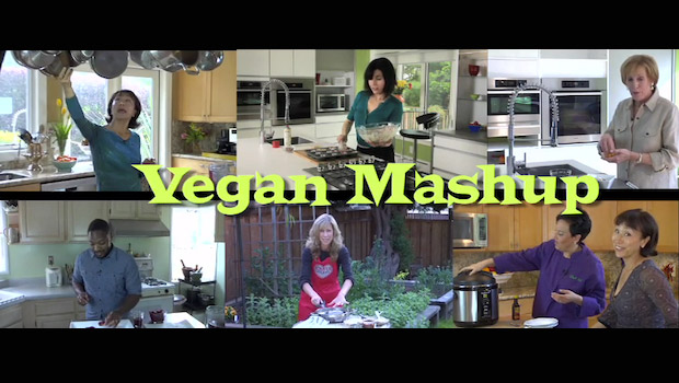 Vegan Mashup will feature three regular chefs, as well as guest cooks.