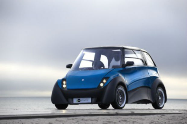 ECOmove in Denmark wants to create an all electric car with a 500 mile driving range.