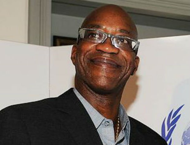 Edwin Moses believes in sports for peace.