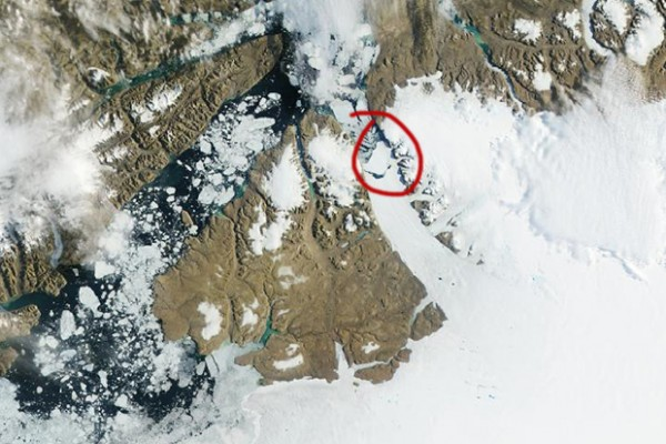 Greenland's Petermann Glacier Loses Another Chunk of Ice