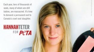 Hannah Teter is a Olympian, humanitarian, activist and vegetarian.