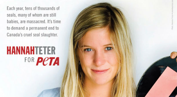 Hannah Teter is a Olympian, humanitarian, activist and vegetarian.
