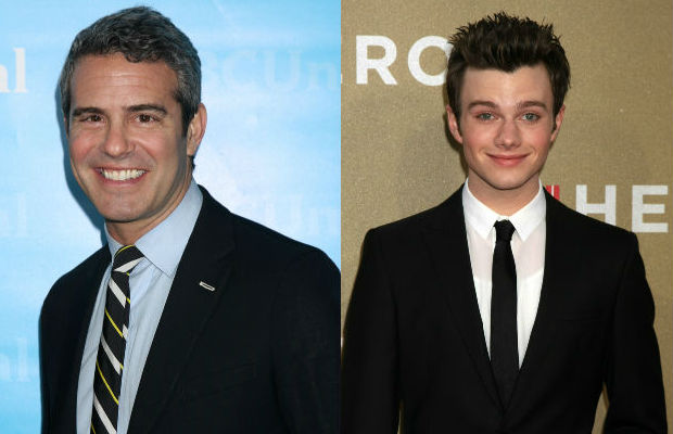Andy Cohen adopts a llama in Chris Colfer's honor