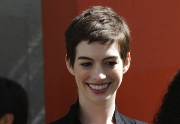 Anne Hathaway says it's impossible to go hog-wild as a vegan.