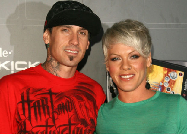 Carey Hart and wife Pink celebrate his birthday with vegan dishes