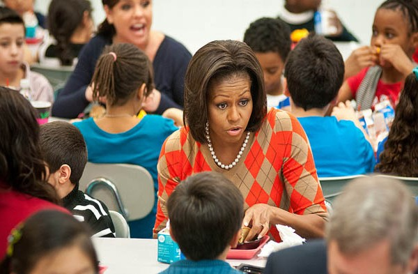 Michelle Obama names winners of kids' recipe challenge.
