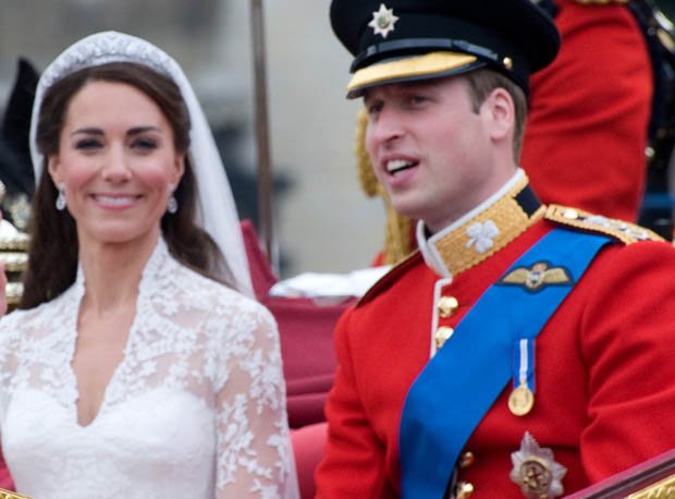 The royal couple raised $1.7 million for charity.