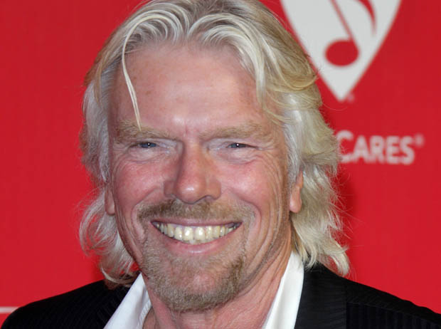 Richard Branson wants alternative to plastic.