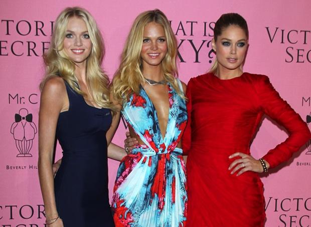 The Victoria's Secret Angels hosted the second annual Supermodel Cycle cancer fundraiser.