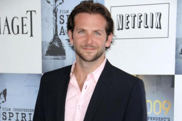 Bradley Cooper shows off rescue dog on 'Live! With Kelly""