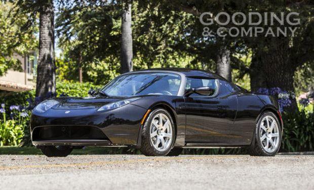 George Clooney's Tesla Roadster
