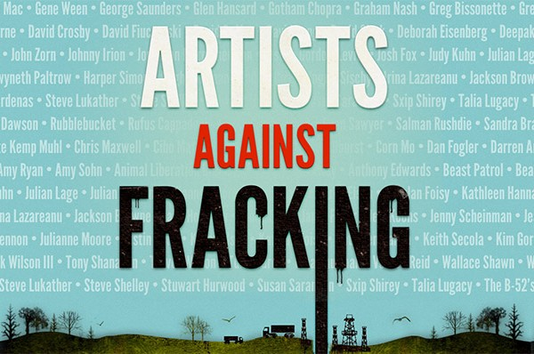 artists against fracking with lennon
