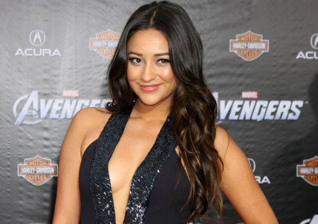 Shay Mitchell skydiving and raising awareness for sex trafficking