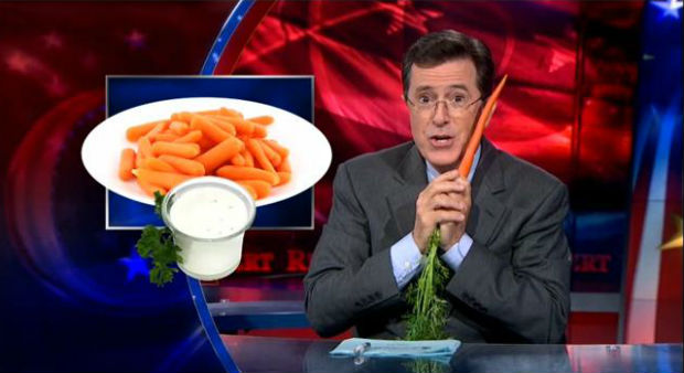 Stephen Colbert slams Meatless Mondays and vegans with new PSA