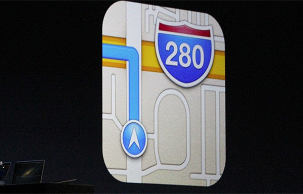 apple maps public transit