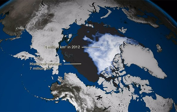 2012 arctic sea ice