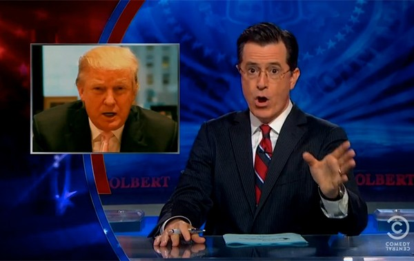 Stephen Colbert offers Donald Trump $1M
