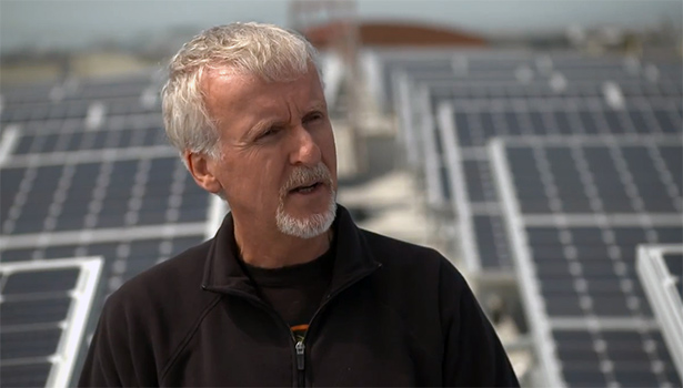 james cameron solar power avatar