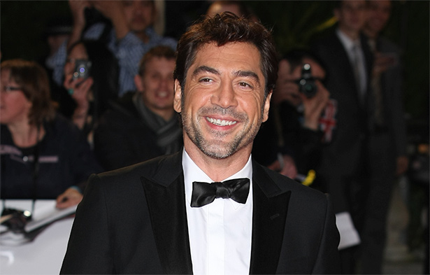 Javier Bardem at the Skyfall London premiere