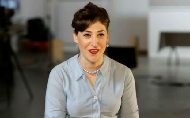 Mayim Bialik supports veganism in new PETA ad