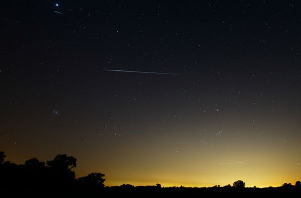 The annual Orionid meteor shower appears this weekend
