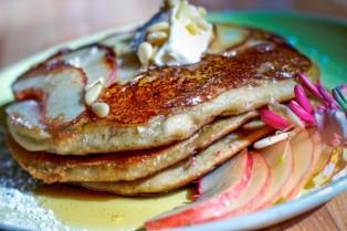 cinnamon snail pancakes