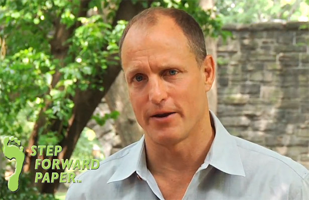 woody harrelson step forward paper